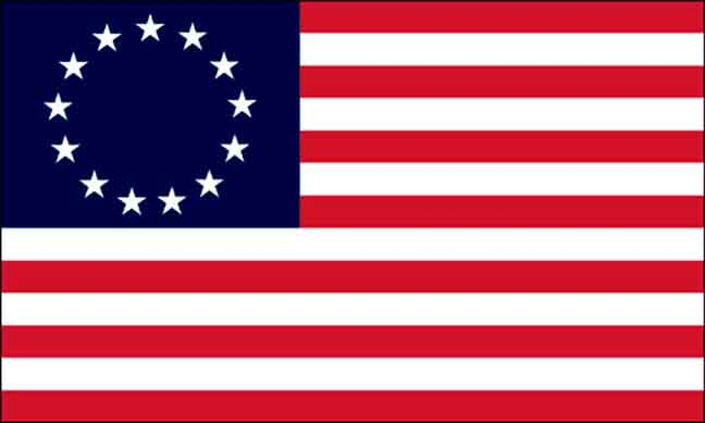 First Official Flag of the US